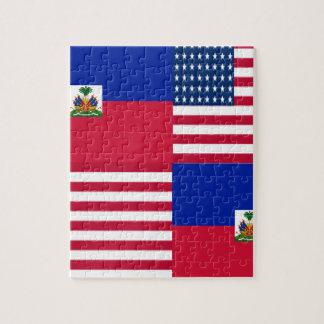 HAITIAN-AMERICAN JIGSAW PUZZLE
