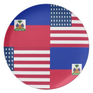 HAITIAN-AMERICAN PLATE