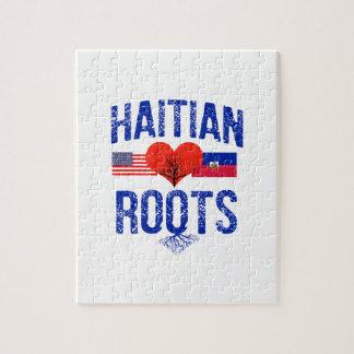 Haitian flag designs jigsaw puzzle