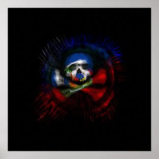 Haitian Pirate Flag Print