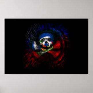 Haitian Pirate Flag Posters