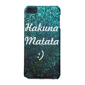 Hakuna Matata- Aqua Ombre Sparkles (iPodTouch 5G) iPod Touch (5th Generation) Case