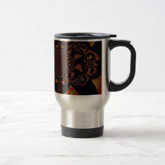 Hakuna Matata Gift Black Jamaica Pop Art. Stainless Steel Travel Mug
