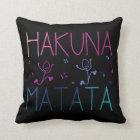 "HAKUNA MATATA Polyester Throw Pillow 16"" x 16"""