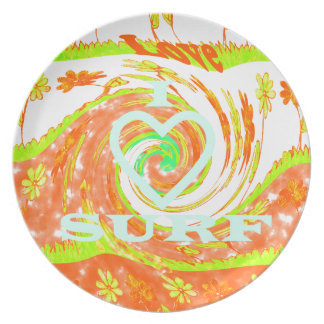 dinner plates nz surf. hakuna matata summer baby kids i love surfing..png dinner plate plates nz surf