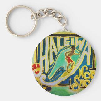 Haleiwa Hawaii Key chain Oahu