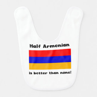 Half Armenian Baby Bibs