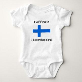 Half Finnish Baby Bodysuit
