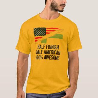 Half Finnish Half American Awesome T-Shirt
