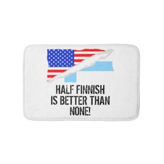 Half Finnish Is Better Than None Bath Mats