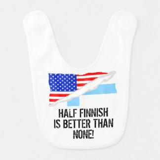 Half Finnish Is Better Than None Bibs