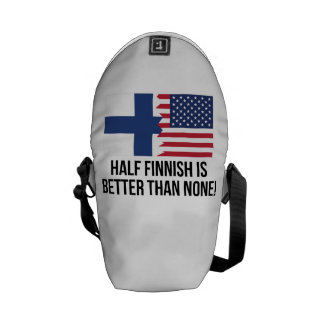 Half Finnish Is Better Than None Commuter Bags