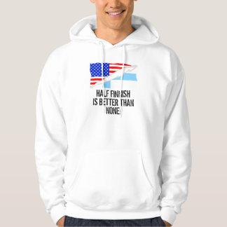 Half Finnish Is Better Than None Hooded Sweatshirt