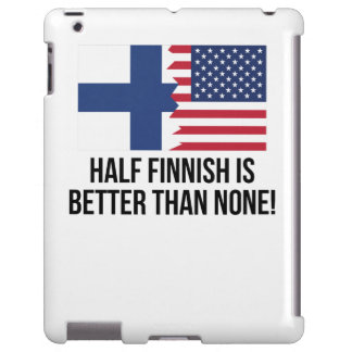 Half Finnish Is Better Than None iPad Case
