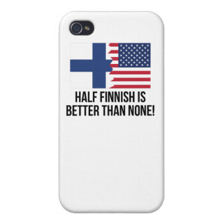Half Finnish Is Better Than None iPhone 4/4S Cover