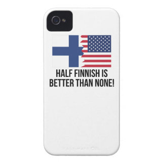 Half Finnish Is Better Than None iPhone 4 Case-Mate Cases