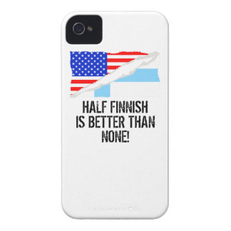 Half Finnish Is Better Than None iPhone 4 Cases