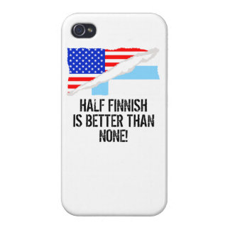 Half Finnish Is Better Than None iPhone 4 Cover