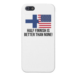 Half Finnish Is Better Than None iPhone 5/5S Cases
