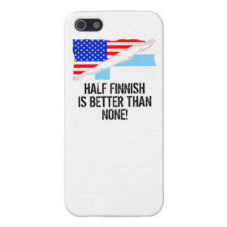 Half Finnish Is Better Than None iPhone 5 Cover