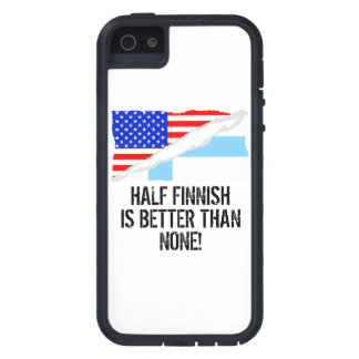 Half Finnish Is Better Than None iPhone 5 Covers