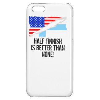 Half Finnish Is Better Than None iPhone 5C Cover