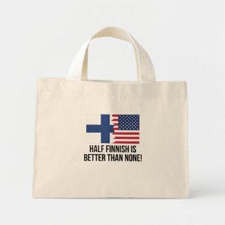 Half Finnish Is Better Than None Mini Tote Bag
