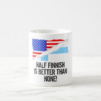 Half Finnish Is Better Than None Morphing Mug