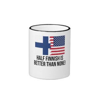 Half Finnish Is Better Than None Ringer Mug