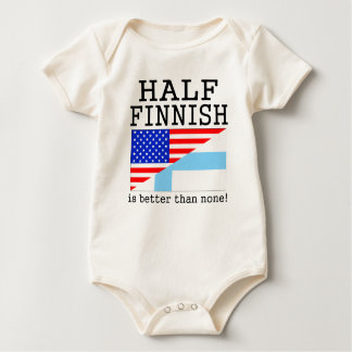 Half Finnish Is Better Than None! Romper
