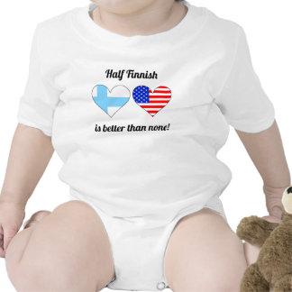 Half Finnish Is Better Than None Baby Bodysuit