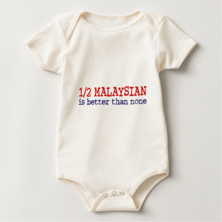 Half Malaysian Baby Bodysuit