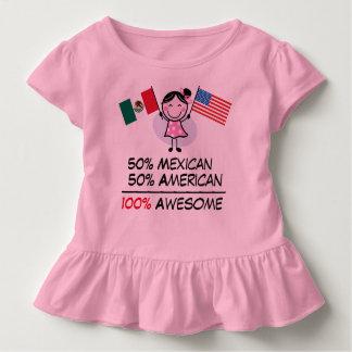 Half Mexican Half American Toddler T-Shirt