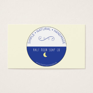 11 moon logo business cards and moon logo business card templates half moon business card may 2015 logo only colourmoves Images