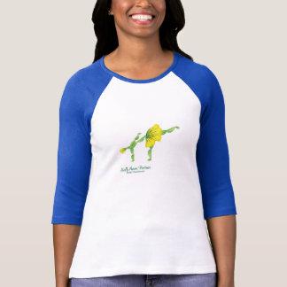(Half-Moon Posture) 3/4 Sleeve T-Shirt