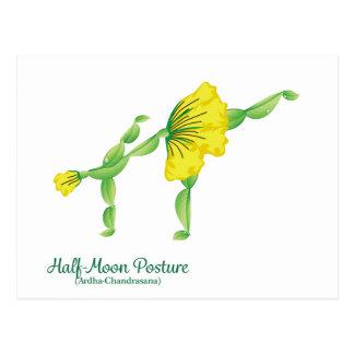 (Half-Moon Posture) Postcard