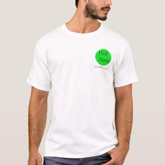 Half-News Curly Logo Shirt