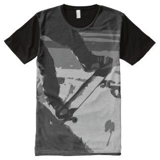 Half pipe Skateboarding All-Over Print T-Shirt