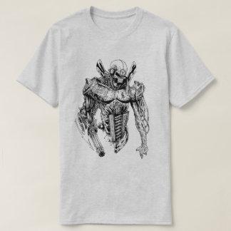 Half Skeleton - Half Robot T-Shirt