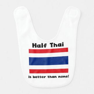 Half Thai Baby Bib