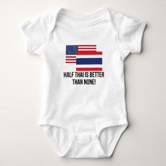 Half Thai Is Better Than None Baby Bodysuit