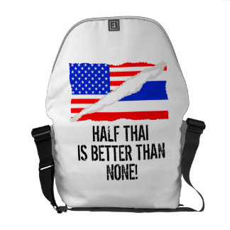 Half Thai Is Better Than None Commuter Bag