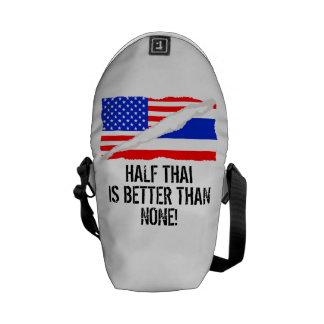Half Thai Is Better Than None Commuter Bag