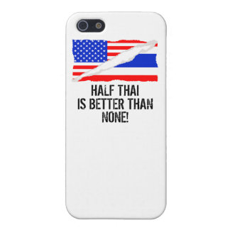 Half Thai Is Better Than None Cover For iPhone 5/5S
