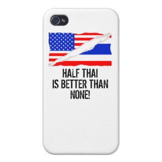 Half Thai Is Better Than None iPhone 4/4S Cover