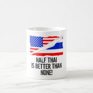 Half Thai Is Better Than None Morphing Mug