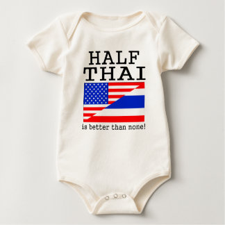 Half Thai Is Better Than None! Romper