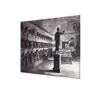 Hall of the Arringatore, Etruscan Museum Canvas Print