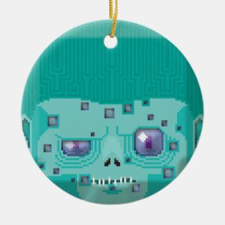 Hallow zomber christmas ornament