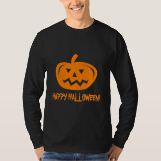 Halloween apparel for men | Pumpkin head carving T-Shirt